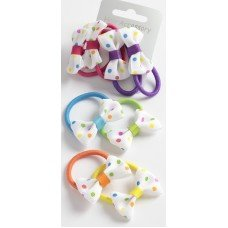 set-of-4-polka-dot-bow-elastics-2-colours-per-set-6-colours-by-talbot