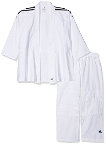 adidas Anzug Judo Uniform Club, brilliant Black/white, 160, J350