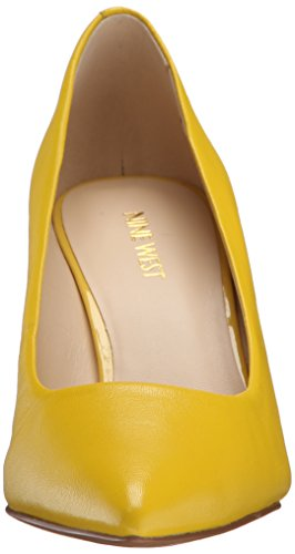 Nine West Charly Leather Pump Dress yellow