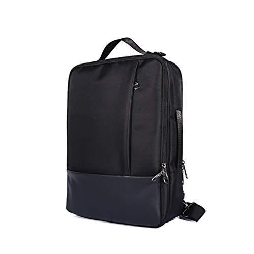 Wasserabweisender 3-in-1 Laptoprucksack/Aktentasche für 35,6 cm (14-15,6 Zoll) ASUS ROG Zephyrus/VivoBook / ROG Strix/ZenBook / TUF Gaming Notebook schwarz schwarz L