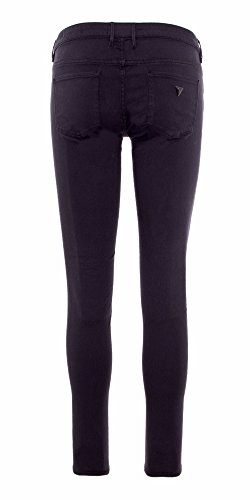 GUESS DONNA JEGGING JEANS SKINNY W81A27 W77R4 Nero
