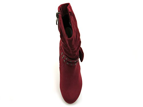 Marco tozzi-plateaustiefelettel - 6667 - Cranberry