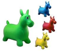 1 x Hüpfpferd Hüpftier für Kinder ca. 60 cm, 1 aus 4 Farben