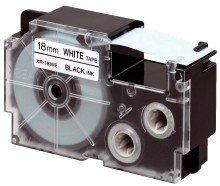 Casio Schriftbandkassette XR-18 X 18mm schwarz auf transparent