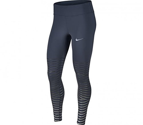 Nike PWR Flsh Epic LX Mallas, Mujer, Azul (Trueno) / Negro, S