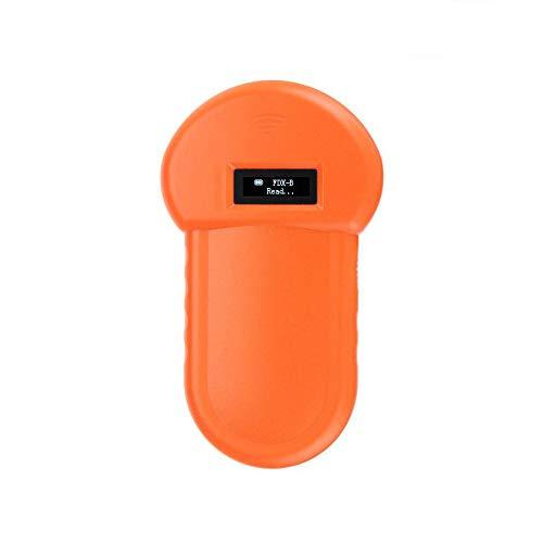Flachbett-kopierer (NOBCK Tier-Kennzeichnung Chip-Leser RFID 134.2Khz-Reader Chiplesegerät Tierchip Transponder Tierkennzeichnung Handheld Pet Scanner ISO FDX-B Animal Chip Reader für Profis und Privatanwender)