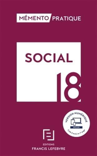 MEMENTO SOCIAL 2018