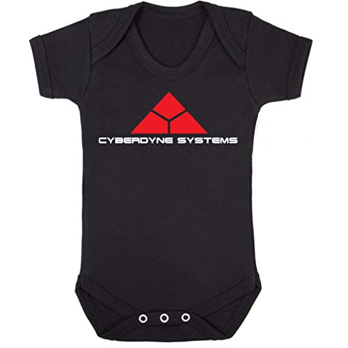 Terminator Cyberdyne Systems Baby Grow Short Sleeve