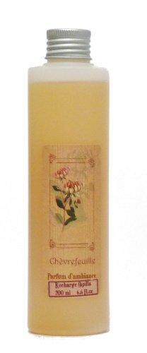 Provence et Nature: Geißblatt Raumduft (Nachfüllflasche) für Raumbedufter mit Holzstäbchen, 200 ml