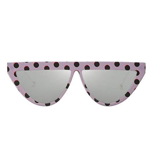 Yncc Herren Damen Brille Punk-Stil Überbrille Mode polarisierten Sonnenbrillen Outdoor-Reitbrille Sport-Sonnenbrille Big Frame Sonnenbrille Eyewear Retro Brille Metallbordüre Adult Anti-UV (H)