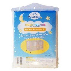 Moustidose Moskitonetz / Mückennetz für Wiegen und Betten, nicht imprägniert
