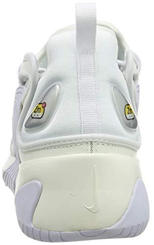 Nike Zoom 2K, Scarpe da Running Uomo, Multicolore (Sail/White/Black 100), 42 EU Img 1 Zoom