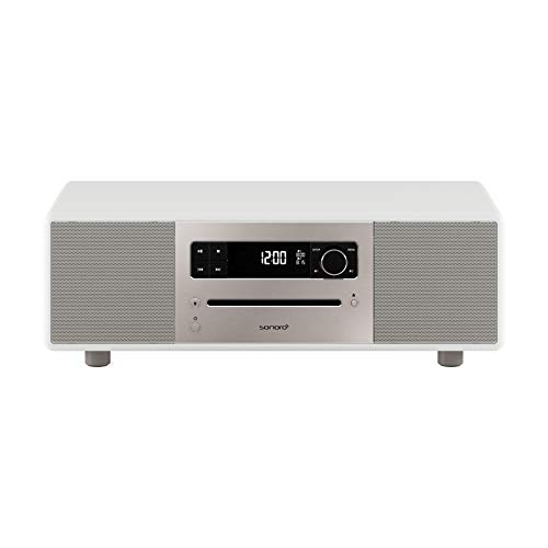 sonoro Lounge Kompaktanlage (UKW/FM/DAB+ Radio, CD-Player, AUX-In, Bluetooth, Meditationsinhalte) Weiß - Stereo 2 Nachfolger