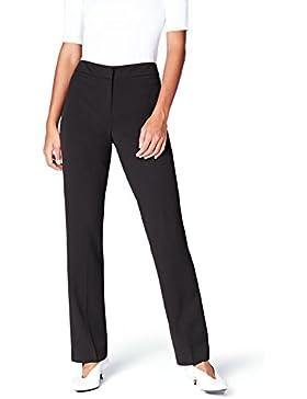 FIND Pantalones Rectos Anchos para Mujer