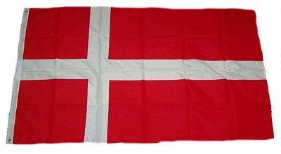 Dänemark Fahne 150 x 90cm (Flagge Dänische)