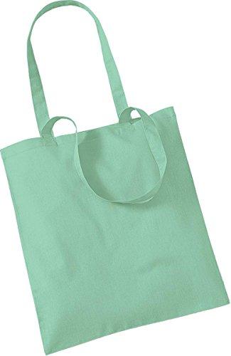 Westford Mill Shopper Handtasche Aufbewahrung Reisetasche Promo Schulter Tasche One Size Grün - Mint