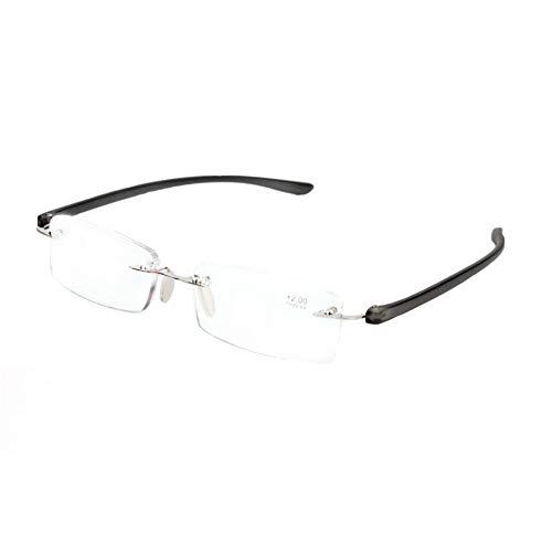 b6b178dce8 IOSHAPO Ultra Light Fashion Design sin montura gafas de lectura sin marco  con estuche