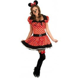 Missy Maus Kostüm für Erwachsene (2393), -