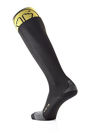 sidas-ultra-thin-chaussettes-de-ski-mixte-adulte-noir-jaune-fr-42-44-cm-taille-fabricant-42-44-cm