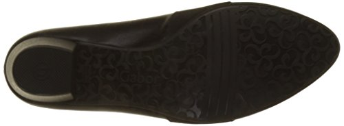 Gabor Ladies Comfort Fashion Pumps Nero (nero)