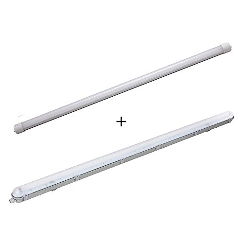 a6b27acf16c T8 4FT 5FT LED Light Tube BUNDLE pack of 1 or 2 18W 24W