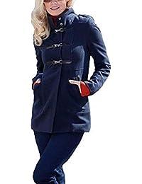 d4468601e9569 Amazon.it  Cappotto montgomery - Blu   Donna  Abbigliamento