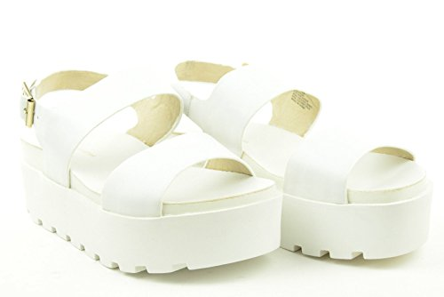 Windsor Smith Platform Sandal Fend White - Sandalo bianco suola alta White
