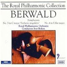 Berwald: Symphonies Nos 3 & 4