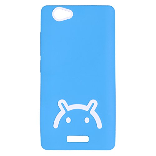 iCandy™ Soft TPU Back Cover For Gionee Marathon M2 - Blue  available at amazon for Rs.195