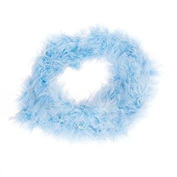 ourbest blau Feder Boa Fluffy Craft Dekoration 2Meter Lang (Boas Feder Blau)