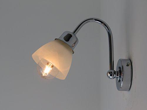 Applique lampada parete moderna e bagno specchio