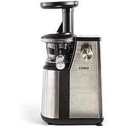 LIVOO Premium 102DOP Extracteur à Jus Vertical 24 x 15,3 x 32,8 cm