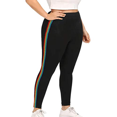 ABsoar Plus Größe Strumpfhose Damen Elastische Legging Frauen Bleistift Yoga Hosen Kurze Stretch Hose Sport Gamaschen Athletische Hosen -