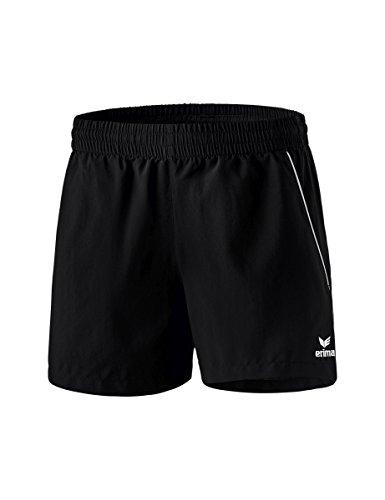 erima Damen Tischtennis Shorts, Schwarz/Weiß, 38