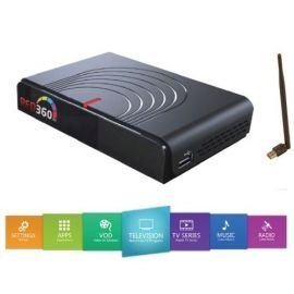 HD-LINE IP-Box Receiver IPTV HD Ethernet LAN - WiFi Kompatibel
