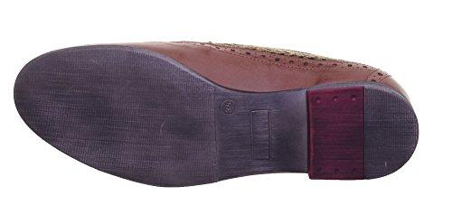 Justin Reece  6900, Chaussures de ville à lacets pour femme Brown XX12
