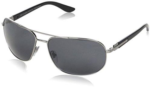 Bulgari Herren 0Bv5028 103/81 64 Sonnenbrille, Grau (Gray),