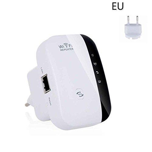 Uokoki Wi Fi Wireless-N WiFi Repeater rete Router 300Mbps Della Gamma del ripetitore del segnale WiFi Extender Ap WPS Encryption