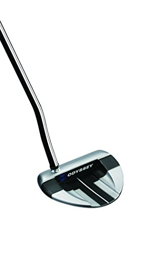 Odyssey Men's Works V-LINE Versa Putter with SuperStroke Grip (Steel), 34-Inch, Right