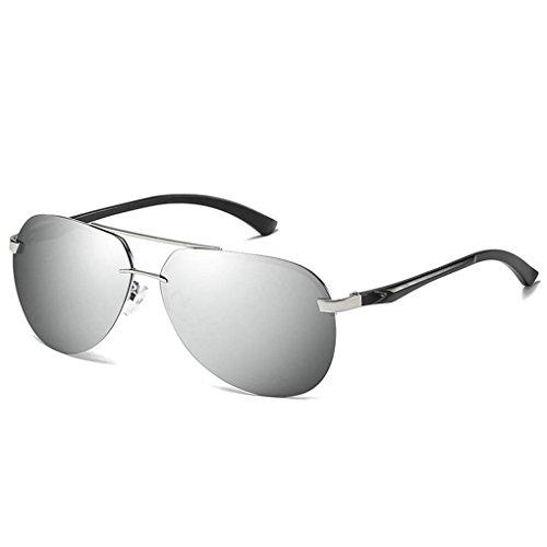 Meisijia Coolsir Männer Frauen polarisierten Sonnenbrillen Brillen-Legierung Rahmen UV400 Schutz Fahren im Freien Brillen Brillen