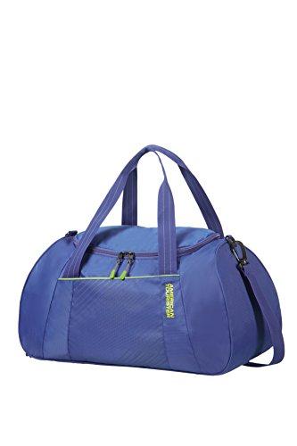 American Tourister Urban Groove Duffle - 0.4 KG Bolsa de Deporte, 50 cm, 36.5 Liters, Azul (Blue)