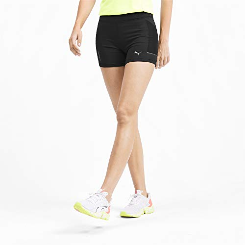 PUMA Damen Ignite Short Tight Leggings, Black, S