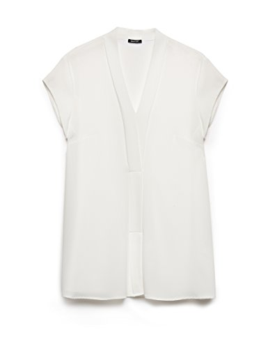 Elena mirò 31p82215t002r1, blusa donna, bianco (bianco 11), 46 (taglia produttore:37)