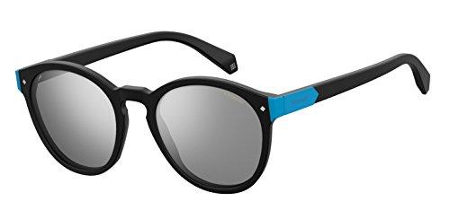 Polaroid Mirrored Round Women's Sunglasses - (PLD 6034/S 003 51EX|51|Grey Color) image