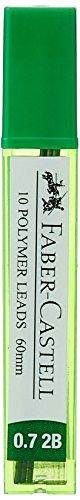 Faber Castell Lead Tube - Pack of 10, 0.7 2B (Black)