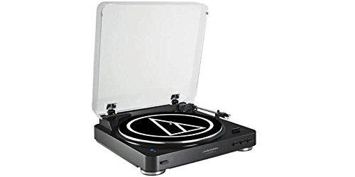 audio technica Plattenspieler at-LP 60 BK schwarz Bluetooth