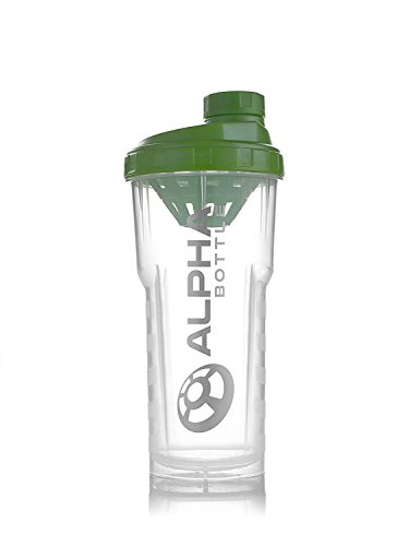 Alpha Bottle 750ml proteine   shaker (Verde 750ml Bottiglia)