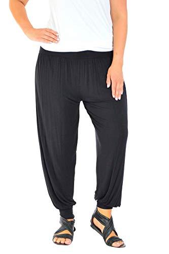 Nouveau Hängen (Nouvelle Collection Harem Ali Baba Full Length Yoga Trousers Black 28-30)