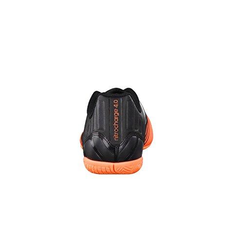 adidas Nitrocharge 4.0 IN Hommes Indoor Football Bottes / Chaussures Noir - Noir