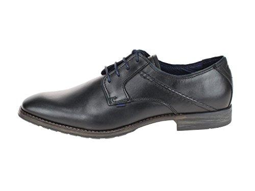 camel active  427.11.06 06, Chaussures de ville à lacets pour homme Noir